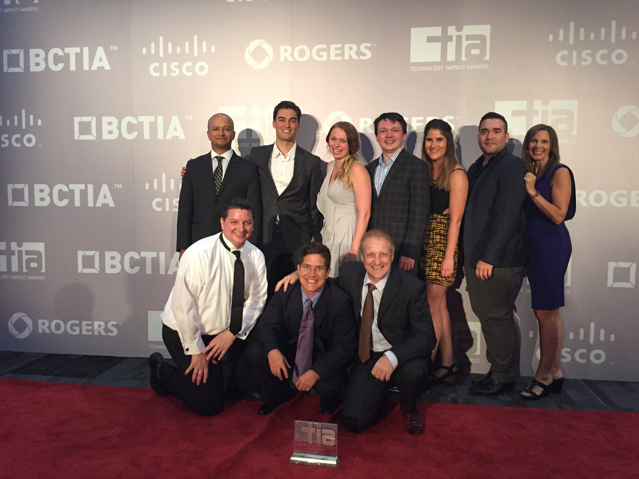 A few Lefties after winning the 2016 TIA for Community Engagement Award.